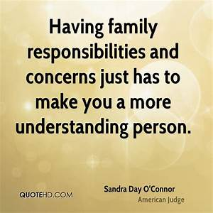 Quotes About Family Responsibility. QuotesGram