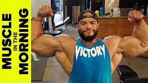 Sergio Oliva Jr Working W  A Legend  Muscle In The Morning  10  20  17