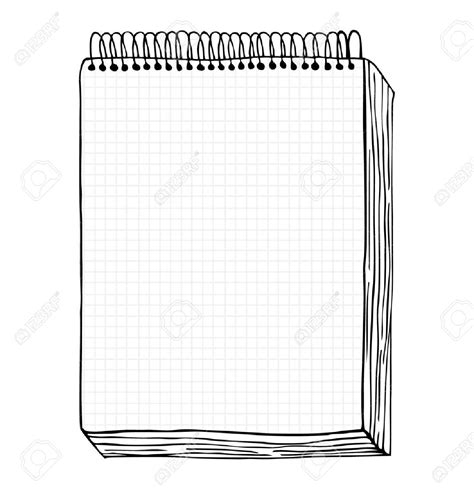 drawing clipart notebook pencil   color drawing