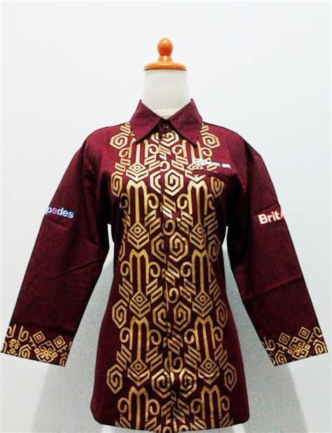 baju bengkel batik bri batik lestari pusat batik
