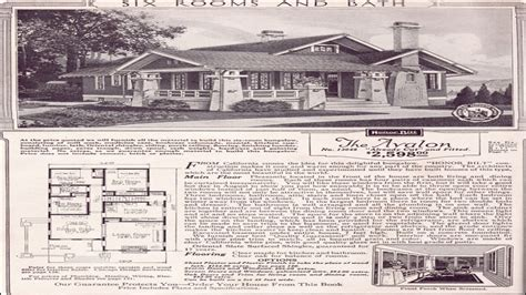 sears home kits bungalows sears craftsman bungalow house plans california style home plans
