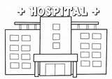 Hospital Coloring Cartoon Pages Preschool Modern Disimpan Dari Coloringpagesfortoddlers Easter sketch template