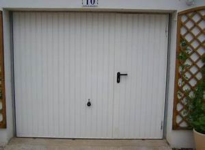 sas gaudissard porte de garage en pvc et aluminium With porte de garage basculante avec portillon hormann
