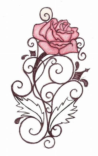 Tattoo Rose Tattoos Outline Clipart Clipartbest Roses