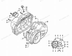 Arctic Cat Atv 2006 Oem Parts Diagram For Crankcase  Cover Assembly