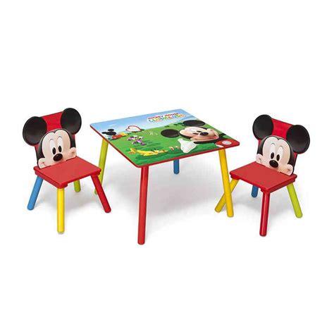 mickey mouse table  chair set decor ideasdecor ideas