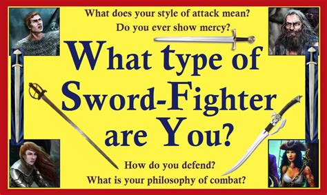 What Type Of Swordfighter Are You?