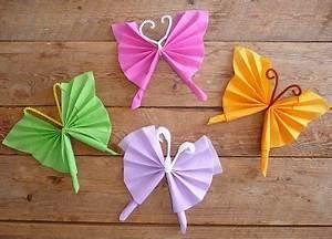 Pliage De Serviette Papillon : decoration facile a faire soi meme ~ Melissatoandfro.com Idées de Décoration