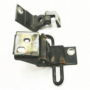 Lh Front Door Hinges Black Ly9b Audi A4 S4 96-01 B5