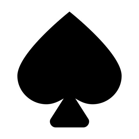spades card spades icon free download at icons8