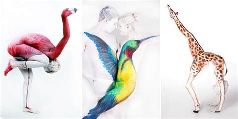 22 Masterful Body Paintings That Disguise Humans As