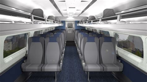 amtrak trains    interiors business traveller