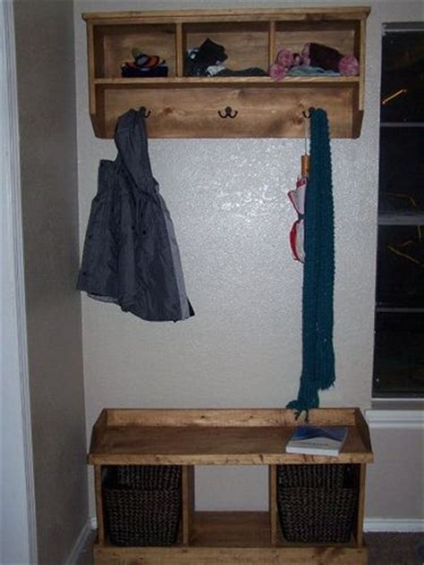 entryway bench  storage shelf  hooks house