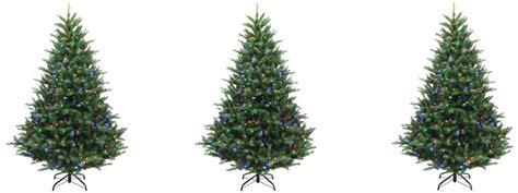 7ft Christmas Tree Pre-lit Multicolored Lights .79