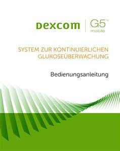 Dexcom G5 Mobile User S Guide
