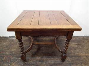Oak, Pull, Out, Dining, Table