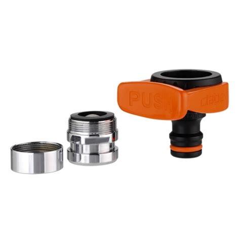 adaptateur tuyau d arrosage sur robinet de cuisine claber raccord nez de robinet pour tuyau d 39 arrosage 20 27 a raccord rapide pour robinet