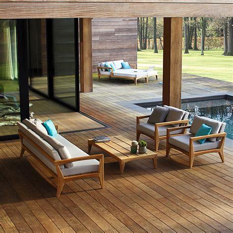 royal botania zenhit teak garden sofa modern teak furniture