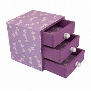 Decorative Handmade Trinket Box - Lilac from Stylish Gifts