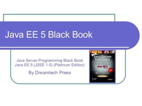 Java Ee 5 Black Book