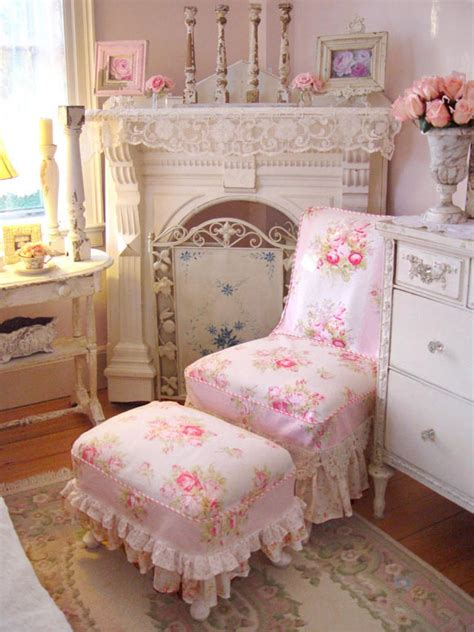 Lovely And Sweet Shabby Chic Fabrics Interior Design