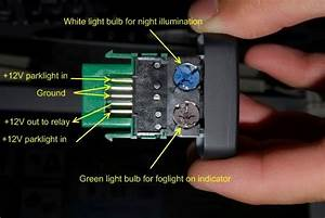 Push Button Light Switch For Dash  Not Ignition