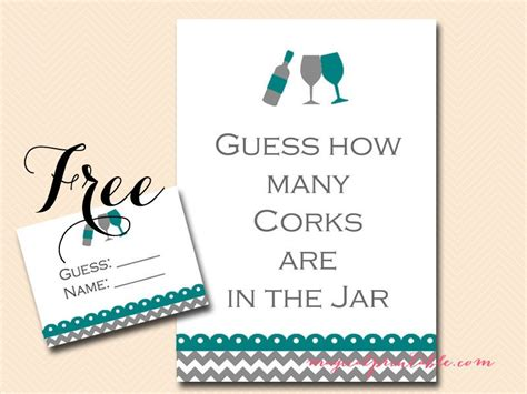 wined themed bridal shower game pack magical printable