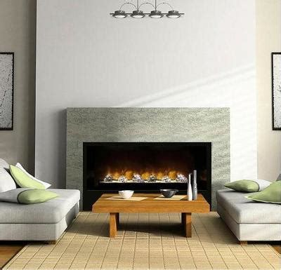 large built  electric fireplace insert modern flames