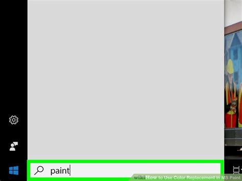 how to use color replacement in ms paint 9 steps with