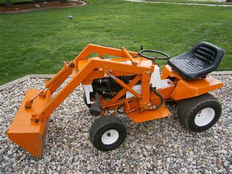 garden tractor loader simplicity 738 garden tractor front end loader talking 3734