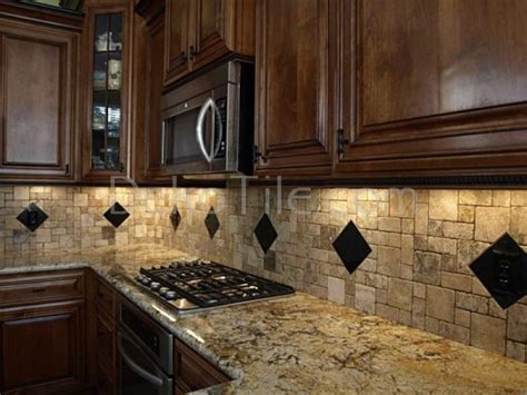 Scabos Travertine Tile Backsplash by Scabos Kitchen