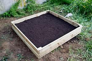 Fabriquer Un Potager Surélevé En Bois : fabrication d un potager en bois teciverdi ~ Melissatoandfro.com Idées de Décoration