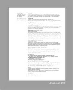 profile on a resume resume profile cv template resume exles