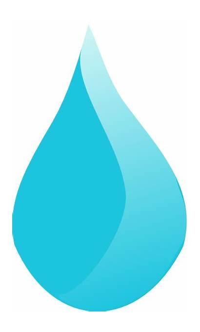 Drop Water Cartoon Teardrop Vector Rain Liquid