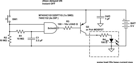 Time Delay Circuit Electrical Engineering Stack Exchange