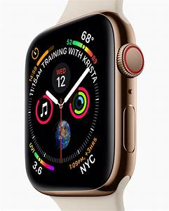 Redesigned Apple Watch Series 4 Revolutionizes