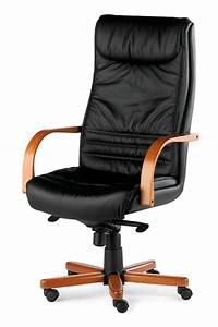 fauteuil de bureau cuir et bois merisier ou wenge lyon With fauteuil cuir bureau