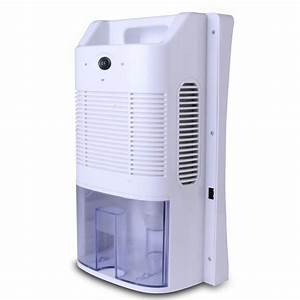Compact Mini Electric Dehumidifier Closet Basement Attic