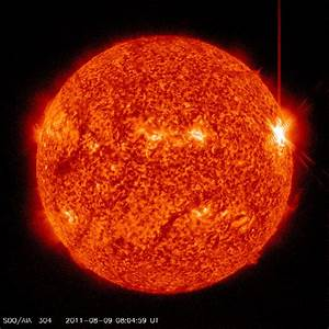 Sun Unleashes Largest Solar Flare in Years - August 2011