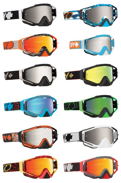 spy motocross goggles spy omen mx goggles first look ride it out