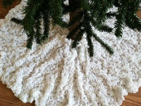 shabby chic christmas tree skirt christmas tree skirt shabby chic snow white sold