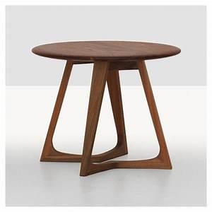 Table De Chevet Ronde : twist night table chevet zeitraum design bois massif ~ Teatrodelosmanantiales.com Idées de Décoration