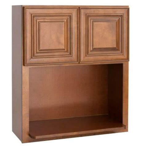 home depot kitchen cabinet doors lakewood cabinets 30x30x12 in all wood wall microwave
