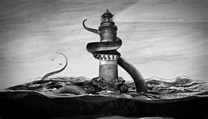 Kraken vs Lighthouse by srnoble on DeviantArt