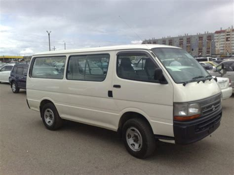Toyota Hiace Photo by Used 2002 Toyota Hiace Photos 3000cc Diesel Manual For