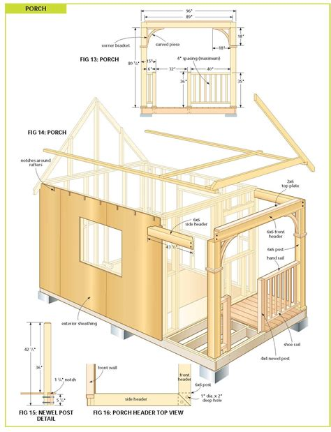 free diy cabin plans free cabin plans bunkie plans