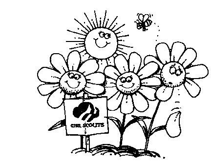Girl Scout Law Coloring Pages - Eskayalitim