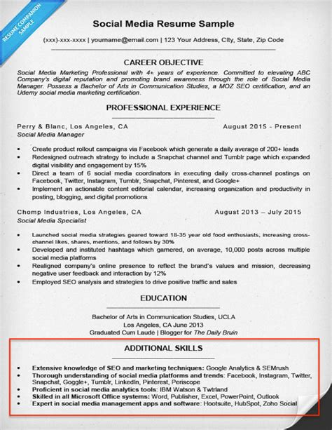 What To Put In Skills On Resume by 20 Skills For Resumes Exles Included Resume Companion