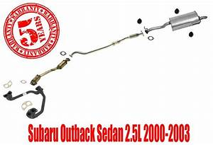 Complete Exhaust System Made In Usa For Subaru Outback