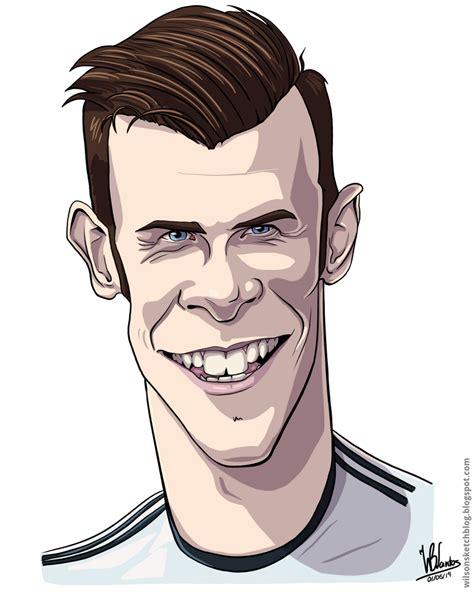 Gareth Bale Cartoon Drawings